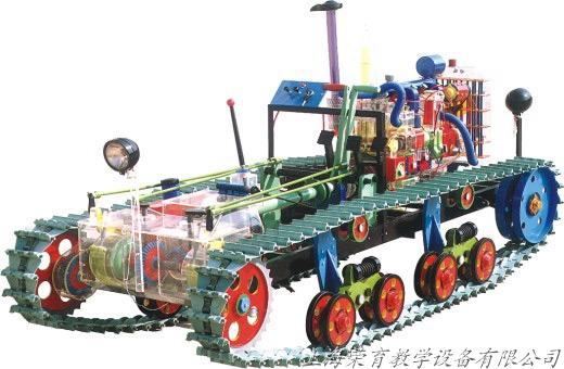 东方红75型拖拉机教学模型